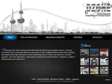 Dzone-intl.com - Flash CMS