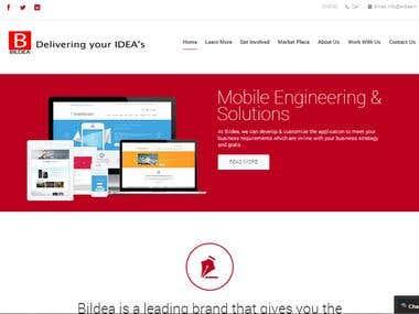 It solutions portfolio website