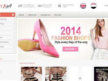 Ecommerce site for saudi arabia