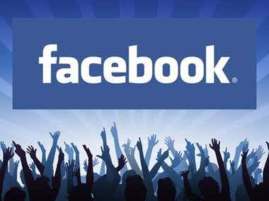 Facebook page likes, fans, subscribers