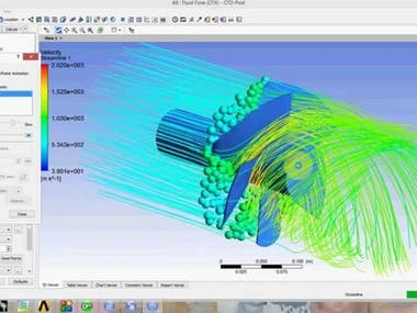 CFD Simulation of Propeller fan.