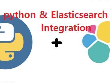 Python & Integrated ELK stack