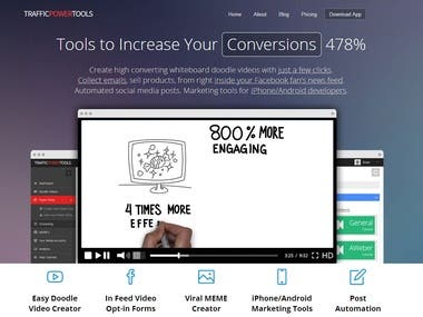 Doodle Video Generator and Marketing Suite of Tools