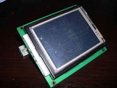 Graphic LCD on USB HID device port