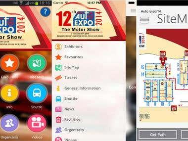 AutoExpo App for iOS(iPhone & iPad) & Android