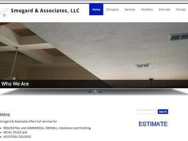 Drywall Company Website