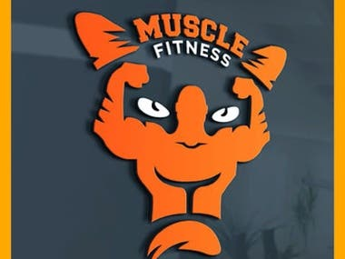 fitness vector custom unique and professional modern logo