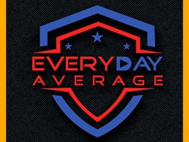 ever day average protect modern professional logo design