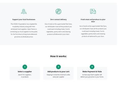 OpenPantry Website