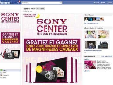 Sony Morocco Facebook App