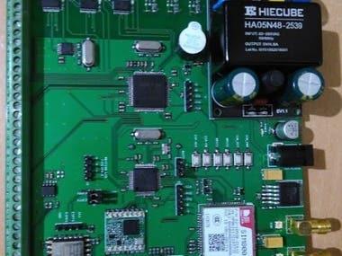 Three phase wireless energy meter