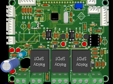 Battery protection controller card