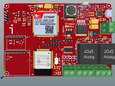 Automobile monitoring and tracking board