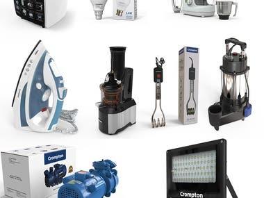 Product Designing & Rendering