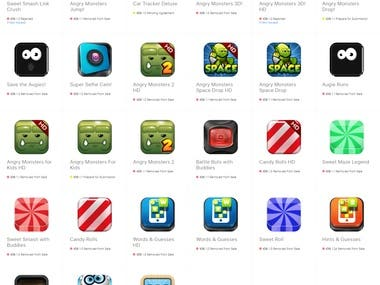 Over 30 iOS & Android Apps