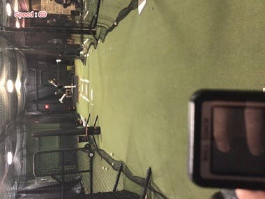 Baseball tracking and speed calculation