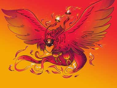Phoenix Creature Design