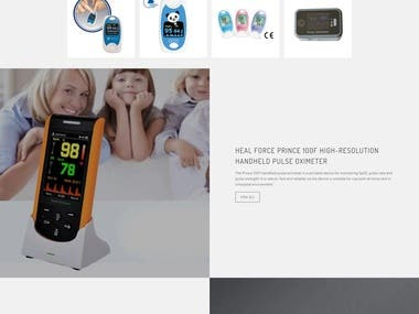 www.oximeters4all.co.uk (eCommerce Shopify)