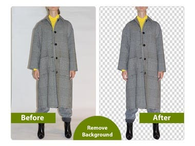 Clipping Path & background transparent.