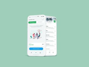 Hangout App Design