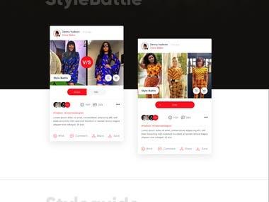 Afrimania App Design