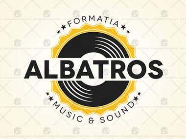 Formatia Albatros - Logo