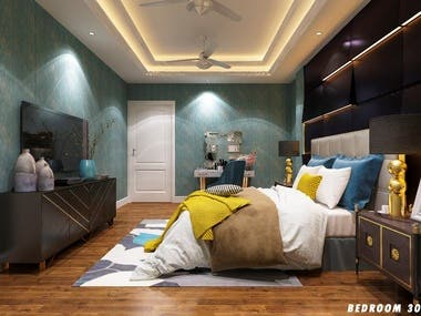 Interiors for Bedrooms