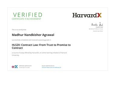 Harvard Contract Law Specialization
