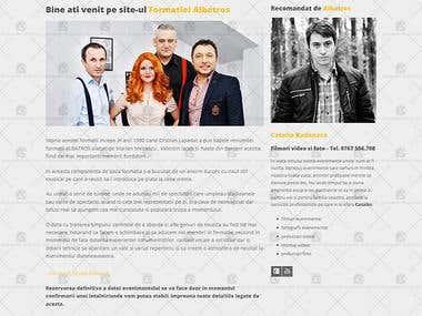 Formatia Albatros - Web Site.