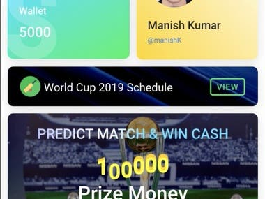 Cricket World Cup 2019 Fantasy Game with Xamarin
