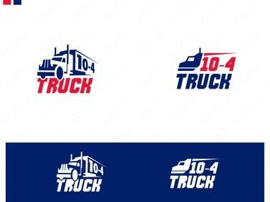 10-4 Truck Logo