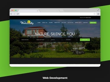 Western Valley Resorts - Room Booking Web Application
