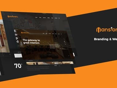 Branding & Web Design - Mansioners