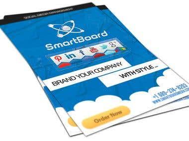 SmartBoard Social Media Agency Flyer
