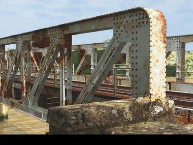 Iron bridge HD model