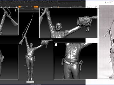 Sculpting from image