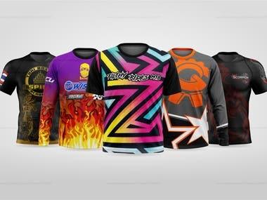 T-shirts, Jerseys, RashGuards & more
