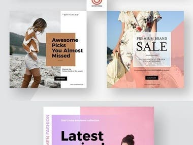 Social Media Ads Design