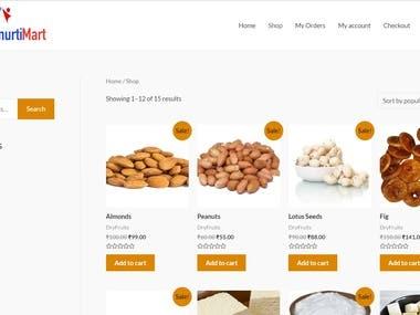 Ecommerce Website , Multivendor Support