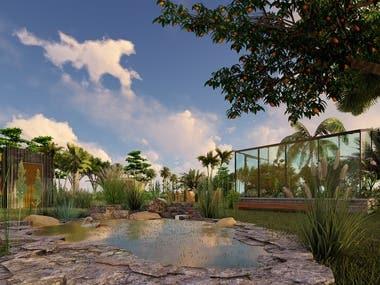 Landscape Design: Farm for the United States