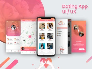 Dating Application UI / UX