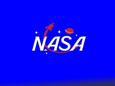 NASA redesign — branding and Logo