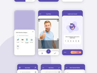Mobile app design for local workers
