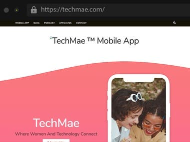 Techmae - Mobile Application