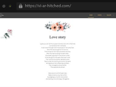 Vi-ar-hitched - Marriage Website