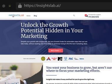 Insightslab - Marketing Company