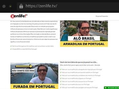 Zenlife - Sales Funnel