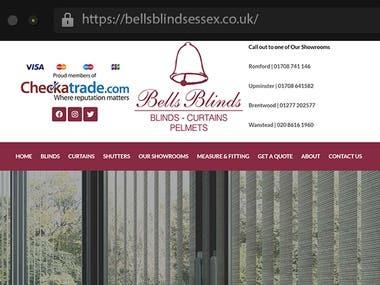 Bellsblindsessex - Showroom Website