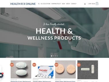 Pharma Ecommerce Website