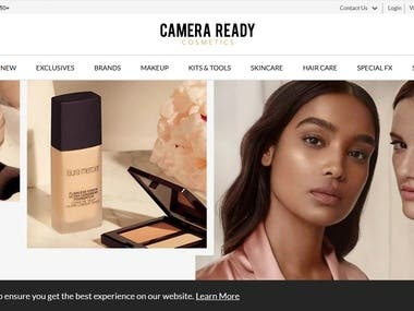 Beauty Products Ecommerce